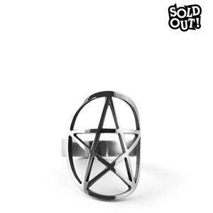 KILLSTAR Pentagram ring.